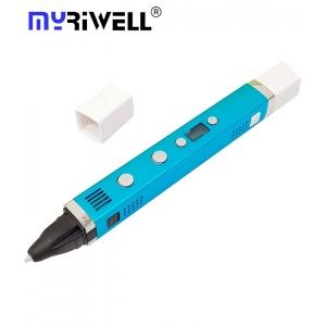 3D Ручка Myriwell RP-100C Голубая (LightBlue)