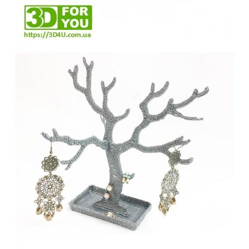 Дерево для украшений (трафарет для 3D ручки)