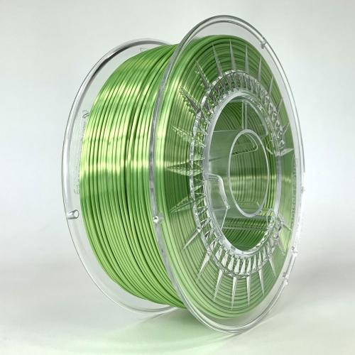 PLA SILK пластик для 3D-принтера 1.75 салатовый Devil Design