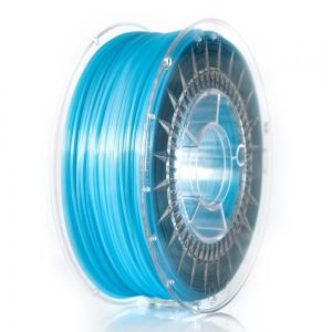 PLA 1.75 мм Голубой Прозрачный Пластик Для 3D Печати Devil Design (Польша)