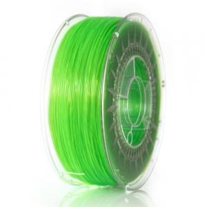 ABS+ 1.75 мм Салатовий Прозорий Пластик Для 3D Друку Devil Design (Польща)