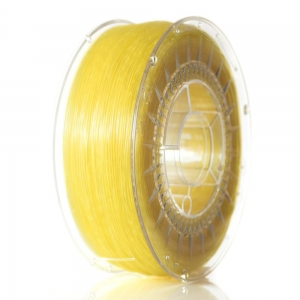 ABS+ 1.75 мм Ярко-Желтый Прозрачный Пластик Для 3D Печати Devil Design (Польша)