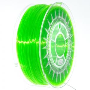 PET G 1.75 мм Салатовий Прозорий Пластик Для 3D Друку Devil Design (Польща)
