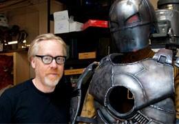 Адам Сэвидж напечатал РЕАЛЬНЫЙ Костюм Железного Человека на 3D-принтере.