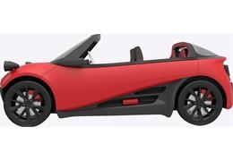 Первый в мире автомобиль, напечатанный на 3D принтере, стоит $53,000